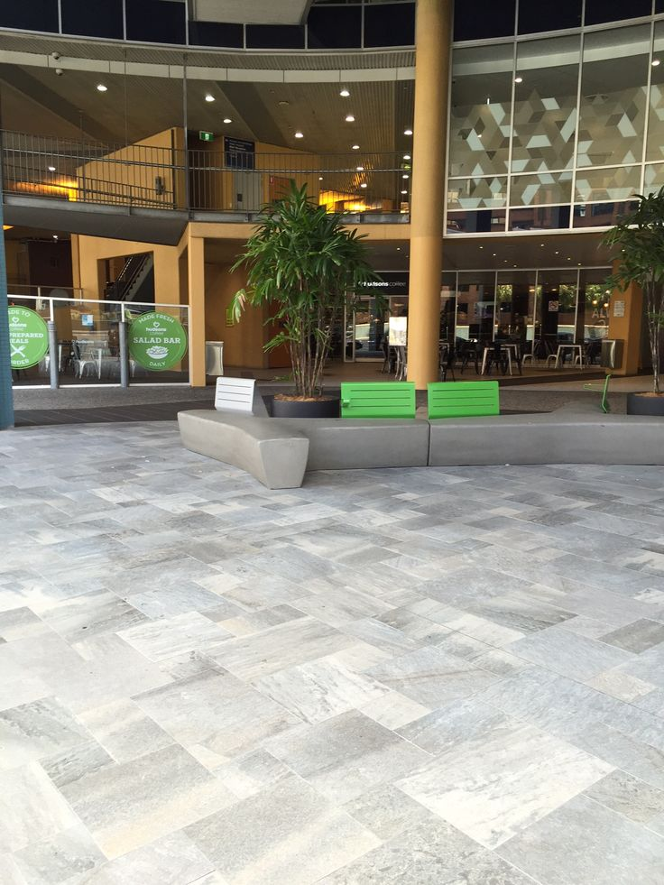 Our Walks Grey tile laid at the Children's Hospital.  Very popular tile thanks to its stone look and durability. Suitable for residential and commercial use. www.acetone.com.au