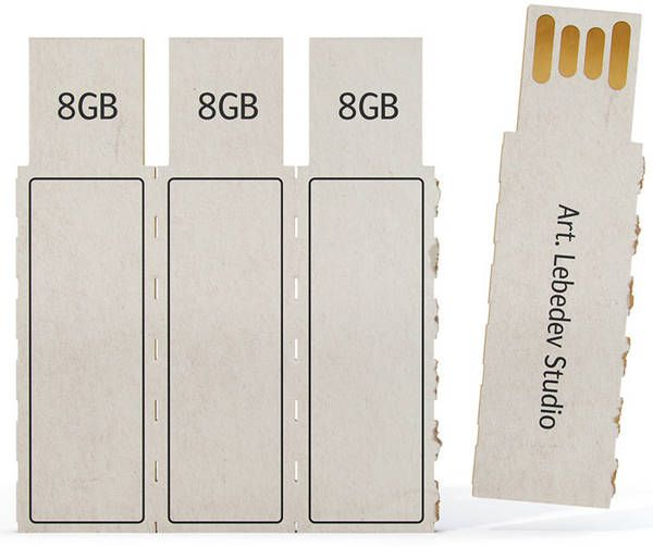 I wonder if NFC/ultra-wideband wireless transfer will make low-capacity flash drives obsolete before they get cheap enough to make into cardboard disposables, though.