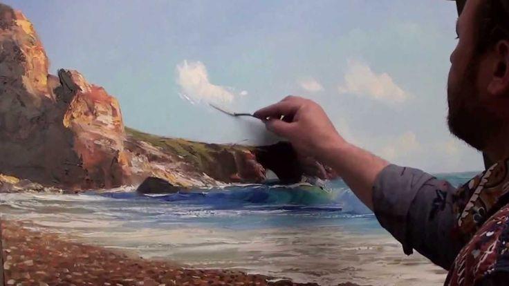 Igor Sakharov Vista sul mare con gabbiani video lezione