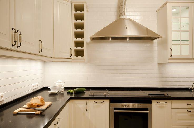 """Кухня. Проект """"Парижская квартира""""."""
