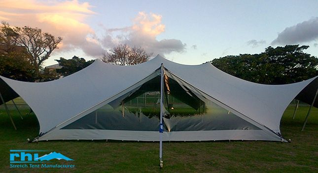 Types of events that are ideal for the Arachnid – RHIs octagon-shaped, 20m in diameter stretch tent.