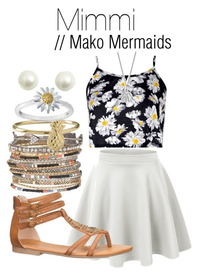 Mimmi // Mako Mermaids by infinitebae on Polyvore featuring polyvore, fashion, style, Boohoo, maurices, Daisy Jewellery and Lee Renee