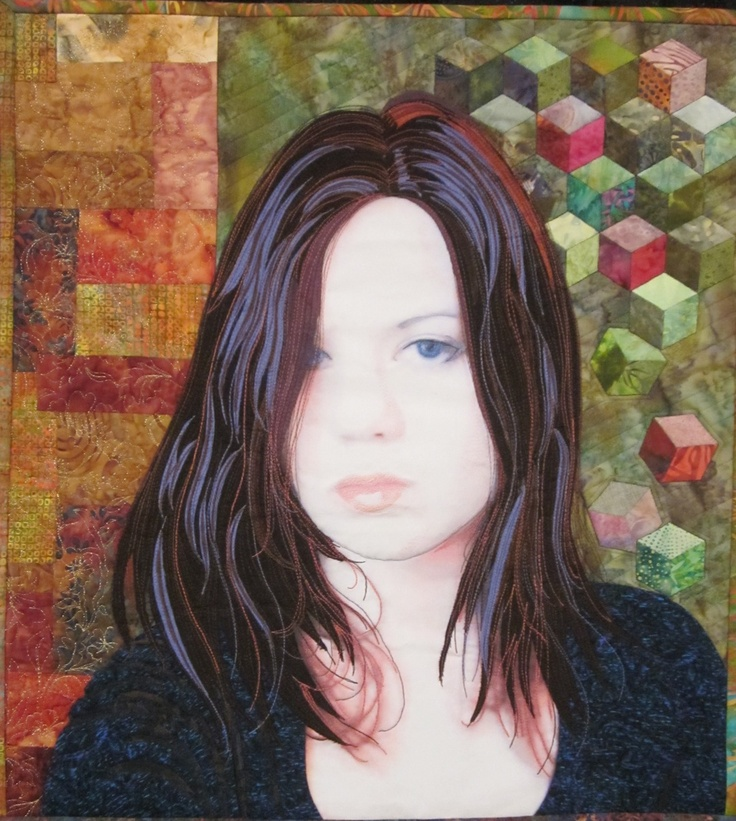 17 best images about quilts 76 on pinterest water for Hand thread painting tutorial