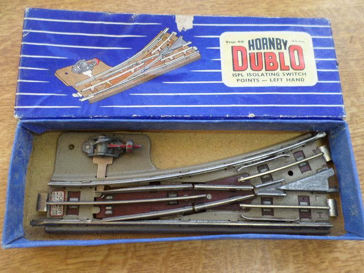 Hornby Dublo 3 Rail Isolating Switch Points Left Hand (1) by RoseCollectable on Etsy