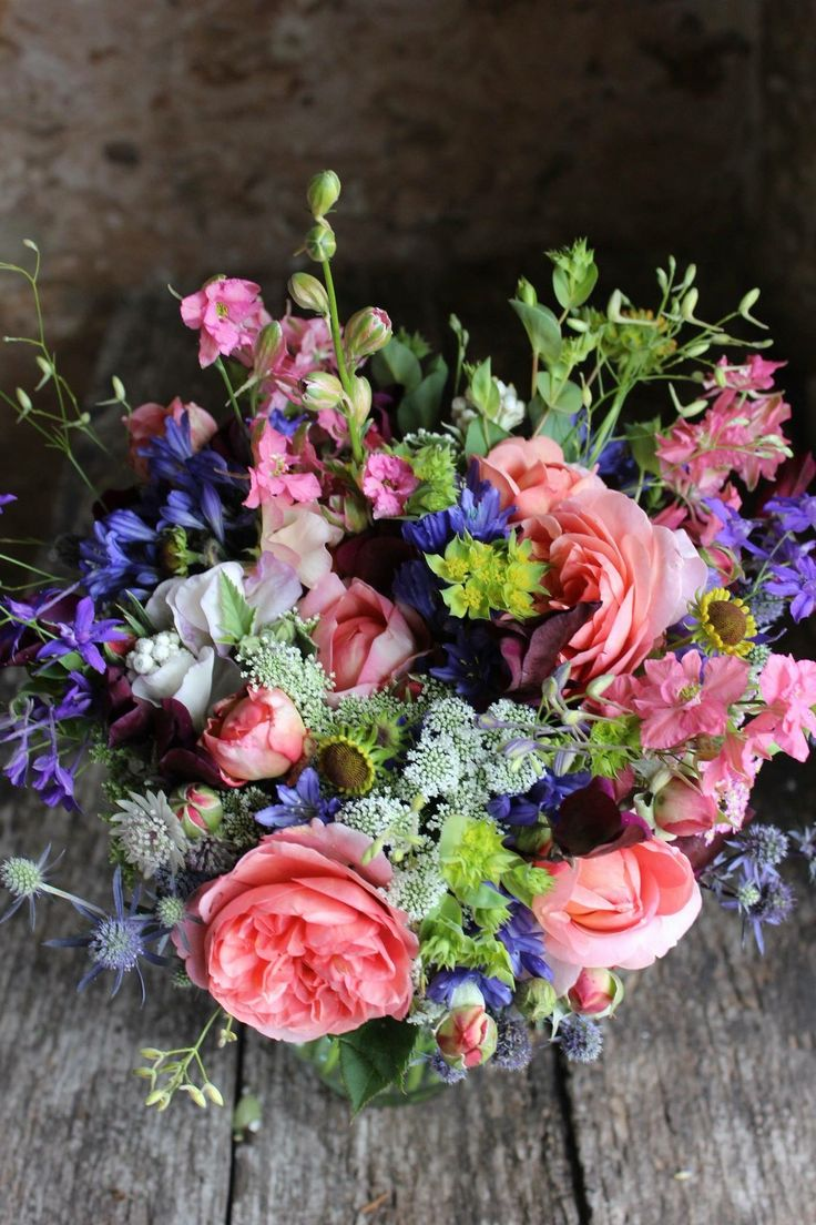 128 best july flower delivery bouquets and seasonal wedding wedding flowers brides bouquets and posies from common farm flowers dhlflorist Images