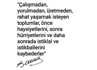 Türk Devrimi dünyada eşsiz tek devrimdir, milli üretim ekonomisi devrimi de bu eşsiz devrimi tamamla