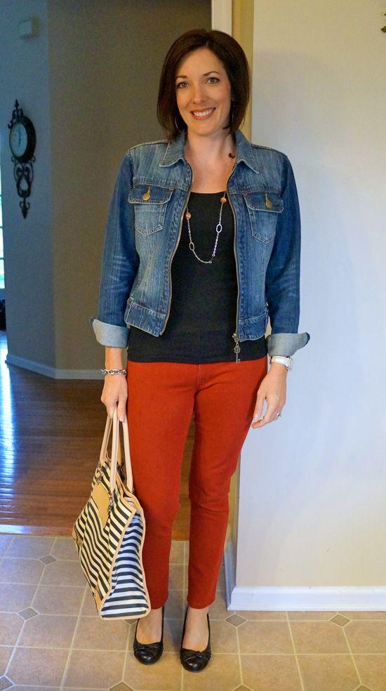 25 best ideas about red skinny jeans on pinterest wear. Black Bedroom Furniture Sets. Home Design Ideas