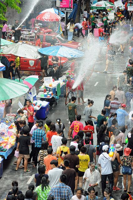Songkran Thailand - April 13-15