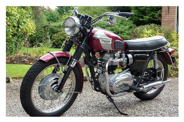 1970 T120 Bonneville theBikeShed - Classic Triumph Motorcycle Restoration