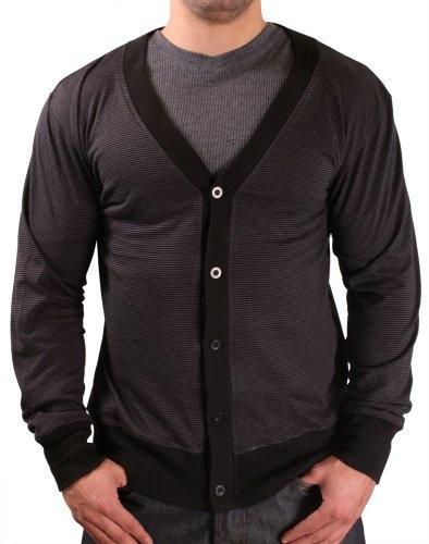 Moda Essentials Mens Knit Cardigan Sweater Heathered Black Size S Moda Essentials,http://www.amazon.com/dp/B00AWFBPSO/ref=cm_sw_r_pi_dp_VD2Rrb8415FC4990