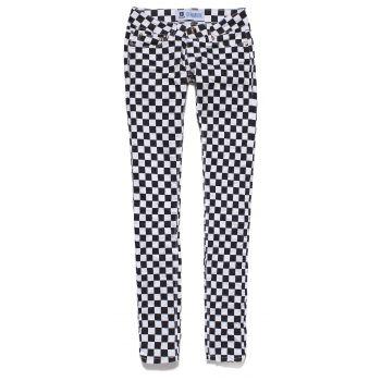 DENIM BOX pants checker tweed showroom