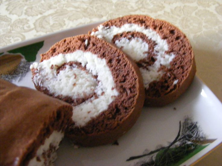 Rulada cu crema de cocos