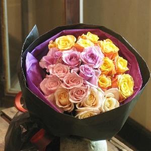 rose bouquet バラ20本のおまかせブーケ