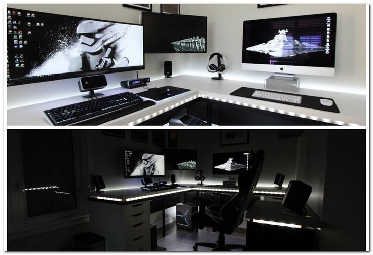 100 Cool Interior Design Ideas For Gamers Gaming Room
