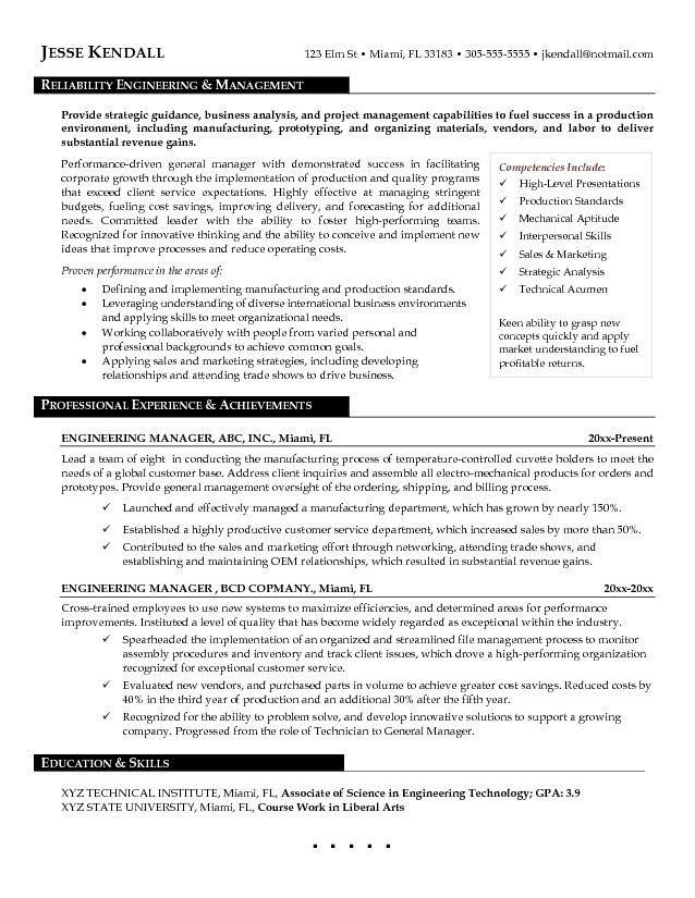 Resume Examples 2018 Engineering Engineering Resume Job Resume Samples Engineering Resume Templates