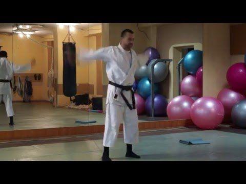 Тренировка по оздоровительной самурайской гимнастике Макко-Хо. Часть 1 - YouTube