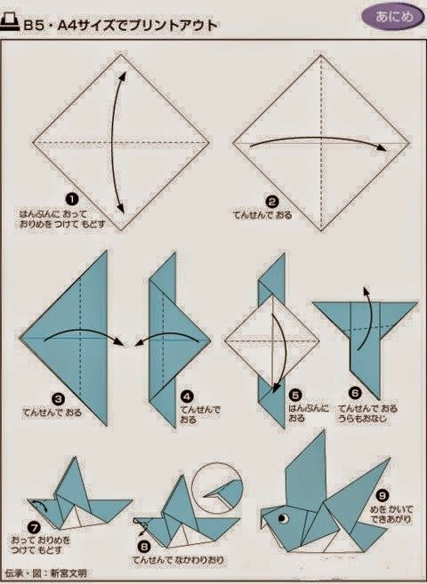 35 best Origami Animals - How To Guide images on Pinterest - photo#37