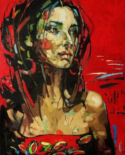 El artista Anna Bocek