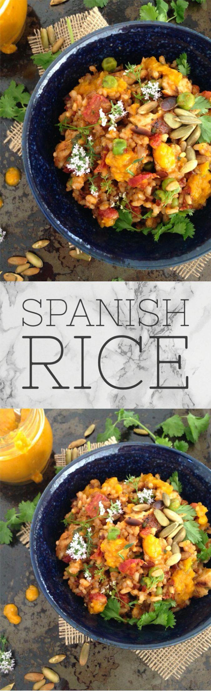 Baked Spanish Rice Recipe | CiaoFlorentina.com @CiaoFlorentina