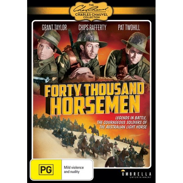 The film depicts and is based on the Australian Light Horse battles during WW1.