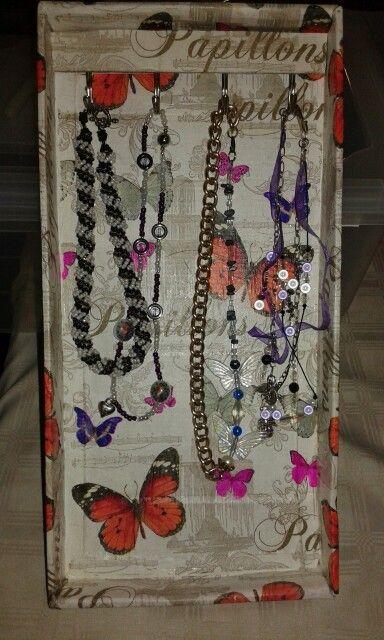 Jewellery organiser 2