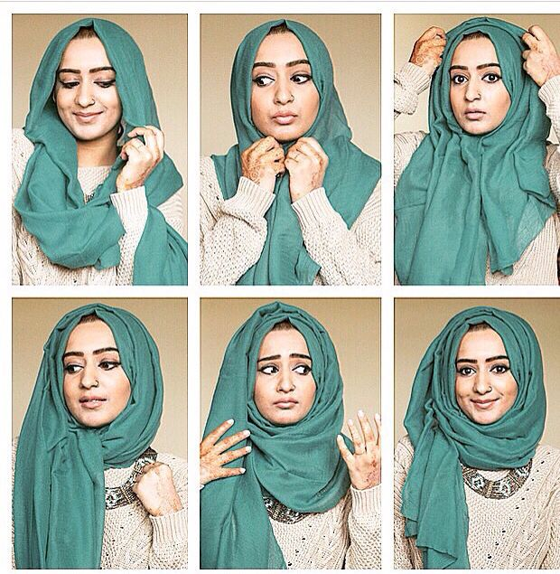 Love this hijab style