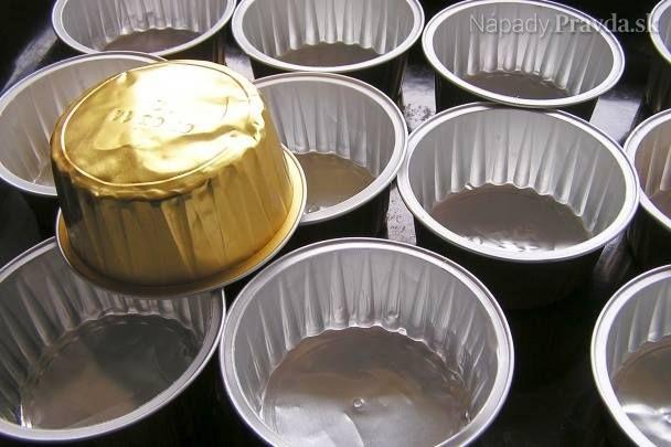obaly z paštéty ako formičky na muffiny