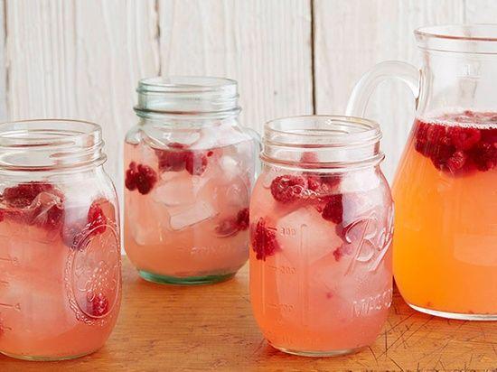 Raspberry Lemonade from Ree Drummond, The Pioneer Woman. My favorite cooking show!