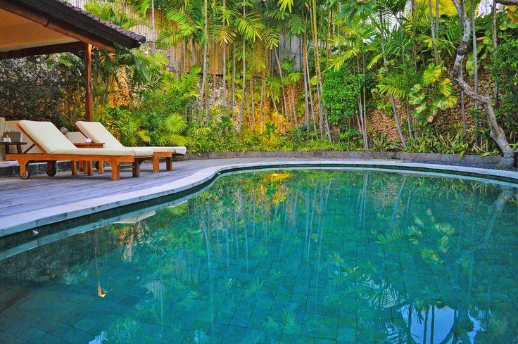 Perfect relaxation spot in the peaceful surroundings at Villa Kubu – tempting ? Lovely photo shared by Kelly Ella Maz  www.villakubu.com #villakubu #kellyellamaz #relaxation #getaway #sanctuary #islandlife #travel #paradise