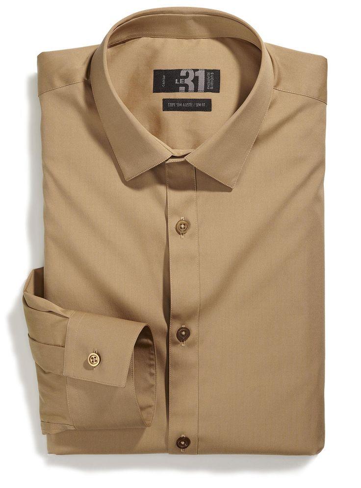 Magasinez des Chemises Habillées pour Homme en ligne   Simons