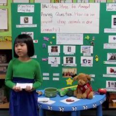 Katherine Smith School Kindergarten Presentations | Project Based Learning | BIE