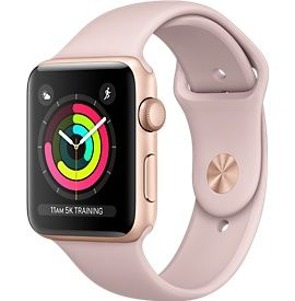 Apple Watch Series 3 features cellular. So you can go with just your watch and make calls, get texts, and take your music. Buy now with free shipping.