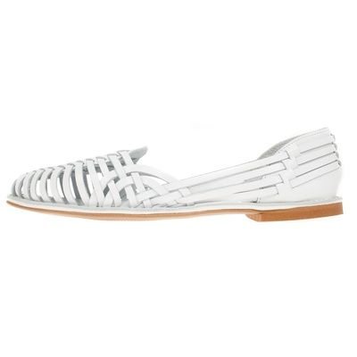 La Garconne Estelle Blanco #onyva #shoes #shoe design #fashion #trends #zurich #switzerland #schweiz #biel #bienne #bern #chur #onlineshop #summer #summershoes #sandals #flats #summerfashion #shoelove
