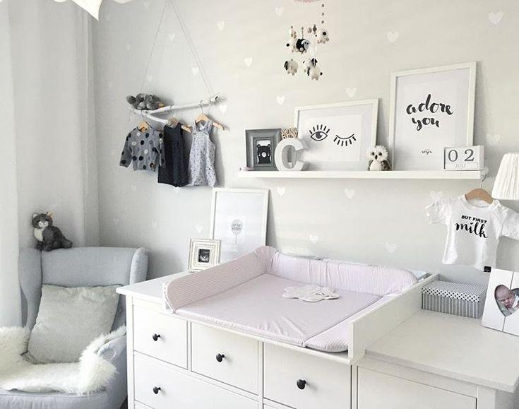 #Farbwechsel im #Babyzimmer. Das Schöne diskret an