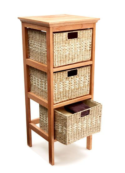 Triple Tier Basket Stand Fw Great For Bathroom With Little Storage No Medicine Cabinet House