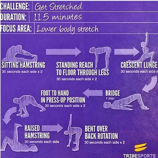 Ready to stretch it out? Try this stretch after your next bout with exercise.