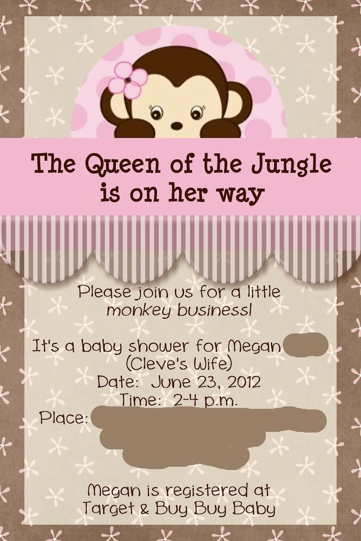 baby shower ideas for girls | Baby Shower {Queen of the Jungle}