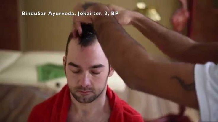 The Champi (Indian head massage) at BinduSar Yoga & Ayurveda