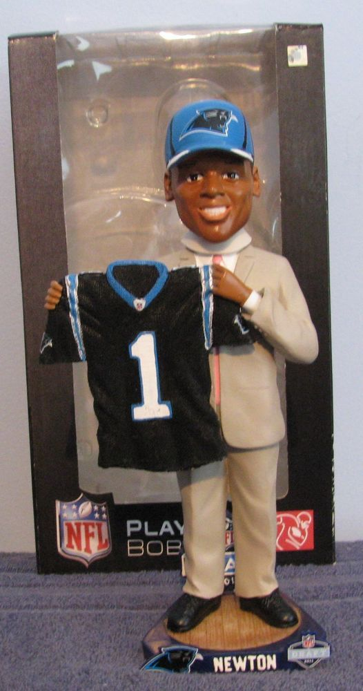 Cam Newton 2011 1st Round Pick Draft Day Carolina Panthers  Bobblehead from $94.99