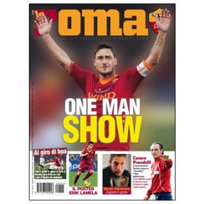 LA ROMA MAGAZINE N.321 JANUARY 2012