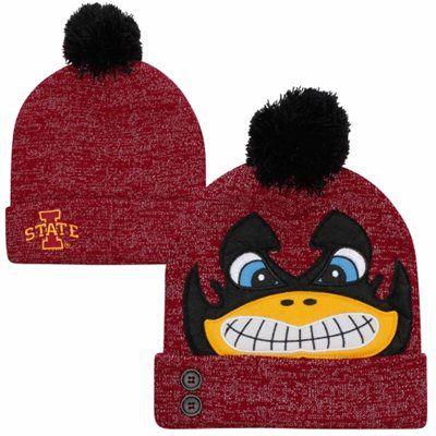 Iowa State Cyclones Ladies Lurex Knit Beanie - Cardinal