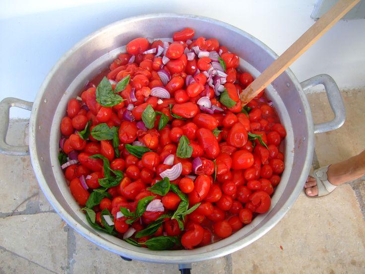rosso bianco e verde, nooooo non sono solo i colori della bandiera italiana: sono i colori della salsa!!! :D