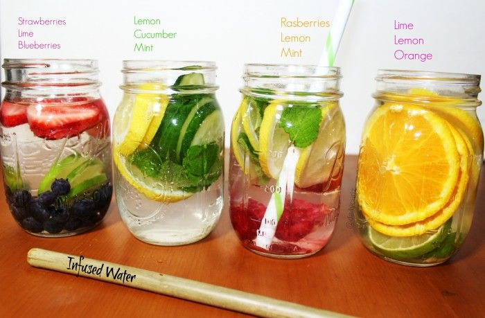 4 Amazing infused water / 4 Infusiones frutales