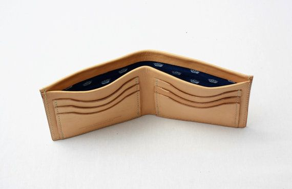 GENIUINE LEATHER WALLET/Mens wallet/6 cards slot/Wallets by ElMato