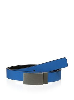 40% OFF Calvin Klein Men's Reversible Flat Strap Saffiano Belt (Navy/Black)