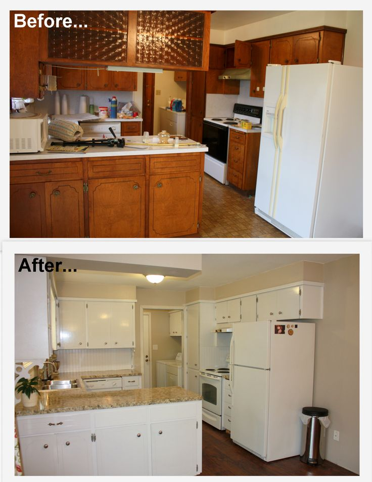 Kitchen Cabinets Makeover, How To Refinish 1960 S Kitchen Cabinets