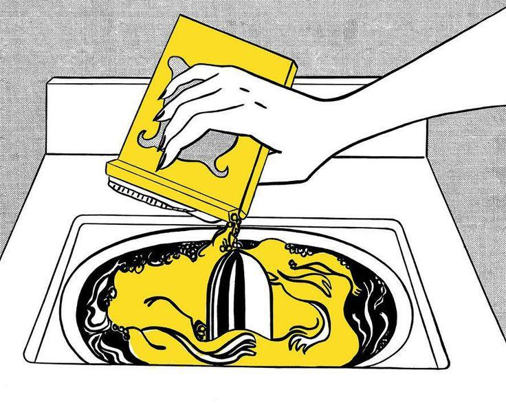 Washing Machine, Roy Lichtenstein, 1961