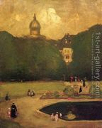 Au Jardin Du Luxembourg  by Robert Henri