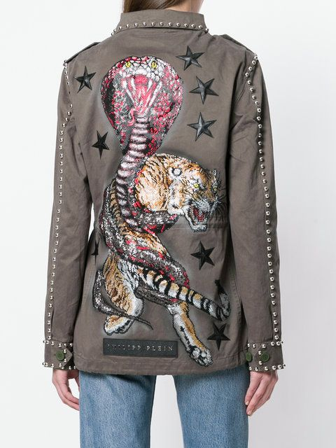 Philipp Plein Similarity Parka jacket