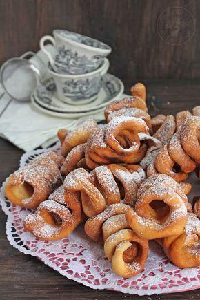 Cocinando entre Olivos: Tirabuzones de Jaén. Receta paso a paso ☂ᙓᖇᗴᔕᗩ ᖇᙓᔕ☂ᙓᘐᘎᓮ http://www.pinterest.com/teretegui